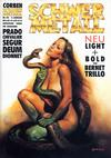 Cover for Schwermetall (Kunst der Comics / Alpha, 1984 series) #128