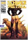 Cover for Schwermetall (Kunst der Comics / Alpha, 1984 series) #135