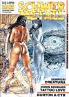 Cover for Schwermetall (Kunst der Comics / Alpha, 1984 series) #136