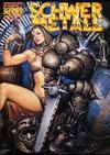Cover for Schwermetall (Kunst der Comics / Alpha, 1984 series) #144