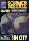 Cover for Schwermetall (Kunst der Comics / Alpha, 1984 series) #162