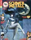 Cover for Schwermetall (Kunst der Comics / Alpha, 1984 series) #219/220