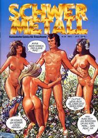 Cover Thumbnail for Schwermetall (Kunst der Comics / Alpha, 1984 series) #58