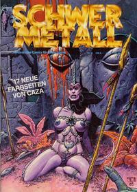 Cover Thumbnail for Schwermetall (Kunst der Comics / Alpha, 1984 series) #61
