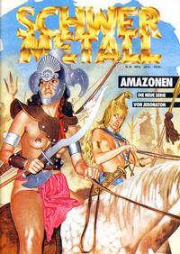 Cover Thumbnail for Schwermetall (Kunst der Comics / Alpha, 1984 series) #62