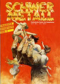 Cover Thumbnail for Schwermetall (Kunst der Comics / Alpha, 1984 series) #65