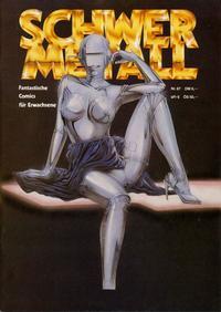 Cover Thumbnail for Schwermetall (Kunst der Comics / Alpha, 1984 series) #67
