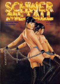 Cover Thumbnail for Schwermetall (Kunst der Comics / Alpha, 1984 series) #68