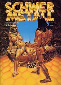 Cover Thumbnail for Schwermetall (Kunst der Comics / Alpha, 1984 series) #69