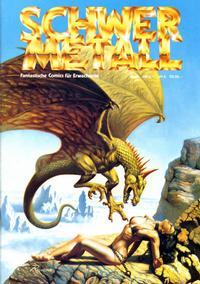Cover Thumbnail for Schwermetall (Kunst der Comics / Alpha, 1984 series) #70