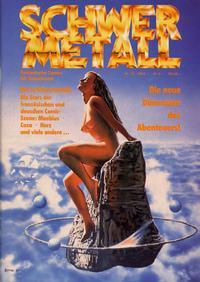 Cover Thumbnail for Schwermetall (Kunst der Comics / Alpha, 1984 series) #73