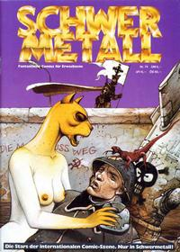 Cover Thumbnail for Schwermetall (Kunst der Comics / Alpha, 1984 series) #74