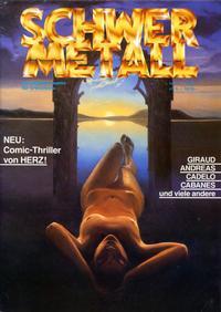 Cover Thumbnail for Schwermetall (Kunst der Comics / Alpha, 1984 series) #77