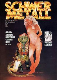 Cover Thumbnail for Schwermetall (Kunst der Comics / Alpha, 1984 series) #78