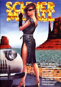 Cover Thumbnail for Schwermetall (Kunst der Comics / Alpha, 1984 series) #82