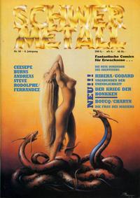 Cover Thumbnail for Schwermetall (Kunst der Comics / Alpha, 1984 series) #90