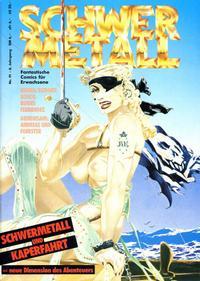 Cover Thumbnail for Schwermetall (Kunst der Comics / Alpha, 1984 series) #91