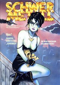 Cover Thumbnail for Schwermetall (Kunst der Comics / Alpha, 1984 series) #92