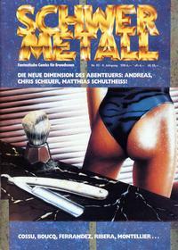 Cover Thumbnail for Schwermetall (Kunst der Comics / Alpha, 1984 series) #93