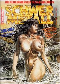 Cover Thumbnail for Schwermetall (Kunst der Comics / Alpha, 1984 series) #94