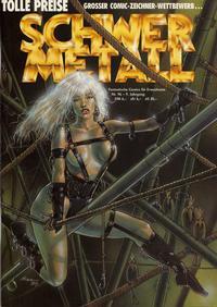 Cover Thumbnail for Schwermetall (Kunst der Comics / Alpha, 1984 series) #96