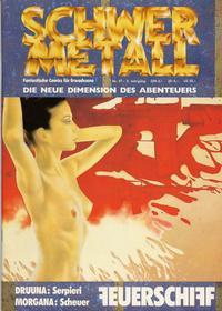 Cover Thumbnail for Schwermetall (Kunst der Comics / Alpha, 1984 series) #97