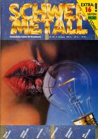 Cover Thumbnail for Schwermetall (Kunst der Comics / Alpha, 1984 series) #101