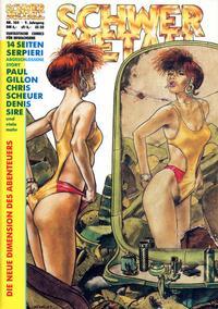 Cover Thumbnail for Schwermetall (Kunst der Comics / Alpha, 1984 series) #104
