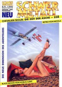 Cover Thumbnail for Schwermetall (Kunst der Comics / Alpha, 1984 series) #105