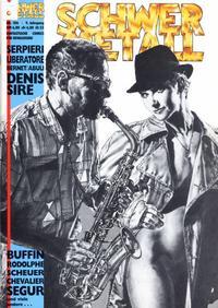 Cover Thumbnail for Schwermetall (Kunst der Comics / Alpha, 1984 series) #106