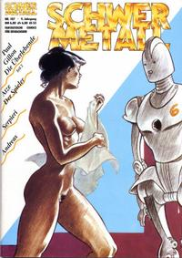 Cover Thumbnail for Schwermetall (Kunst der Comics / Alpha, 1984 series) #107
