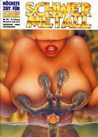 Cover Thumbnail for Schwermetall (Kunst der Comics / Alpha, 1984 series) #108