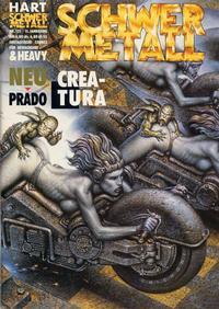 Cover Thumbnail for Schwermetall (Kunst der Comics / Alpha, 1984 series) #121