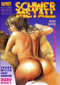 Cover Thumbnail for Schwermetall (Kunst der Comics / Alpha, 1984 series) #149