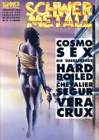 Cover Thumbnail for Schwermetall (Kunst der Comics / Alpha, 1984 series) #154