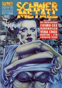 Cover Thumbnail for Schwermetall (Kunst der Comics / Alpha, 1984 series) #155