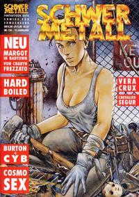 Cover Thumbnail for Schwermetall (Kunst der Comics / Alpha, 1984 series) #156