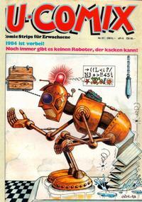 Cover Thumbnail for U-Comix (Kunst der Comics / Alpha, 1984 series) #52