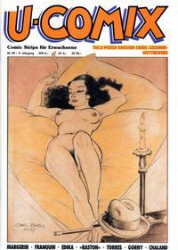 Cover Thumbnail for U-Comix (Kunst der Comics / Alpha, 1984 series) #89