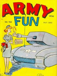Cover Thumbnail for Army Fun (Prize, 1952 series) #v5#10