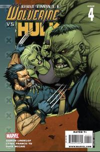 Cover Thumbnail for Ultimate Wolverine vs. Hulk (Marvel, 2006 series) #4
