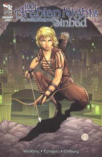 Cover Thumbnail for 1001 Arabian Nights: The Adventures of Sinbad (Zenescope Entertainment, 2008 series) #9