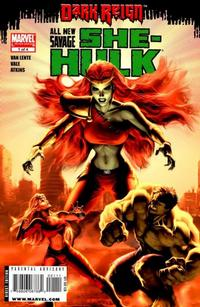 Cover Thumbnail for All New Savage She-Hulk (Marvel, 2009 series) #1