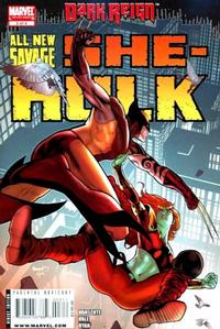 Cover Thumbnail for All New Savage She-Hulk (Marvel, 2009 series) #3
