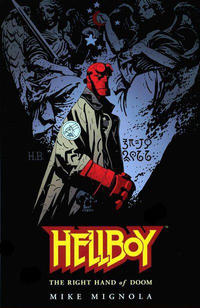 Cover Thumbnail for Hellboy (Dark Horse, 1994 series) #[4] - The Right Hand of Doom [First Printing]