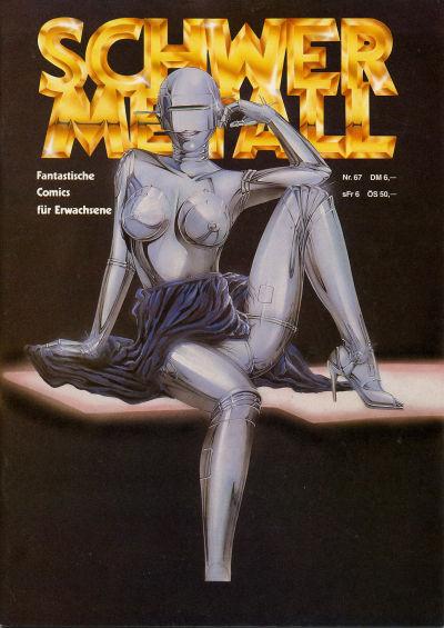 Cover for Schwermetall (Kunst der Comics / Alpha, 1984 series) #67