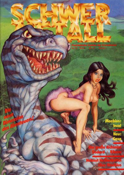 Cover for Schwermetall (Kunst der Comics / Alpha, 1984 series) #72