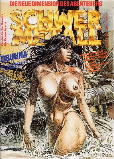 Cover for Schwermetall (Kunst der Comics / Alpha, 1984 series) #94