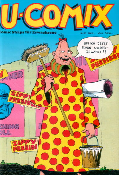 Cover for U-Comix (Kunst der Comics / Alpha, 1984 series) #53