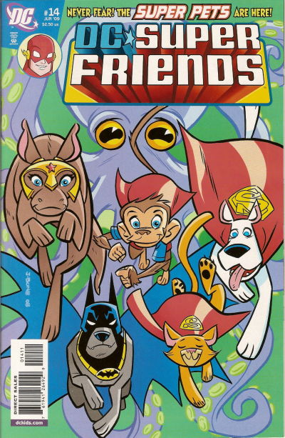 Cover for Super Friends (DC, 2008 series) #14